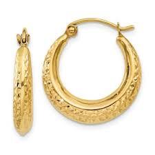 yellow gold earrings gold earrings for less overstock