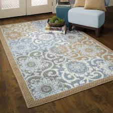 Green And Brown Area Rugs Better Homes And Gardens Blue Blocks Area Rugs Or Runners