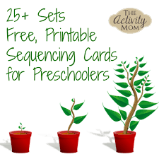 the activity mom sequencing cards printable
