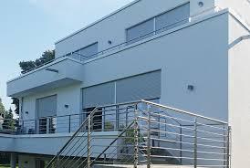 balkon edelstahlgel nder balkon mit aufgangstreppe nappenfeld edelstahl schlosserei in