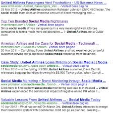 united airlines media baggage a comparison on online branding and popularity between klm and