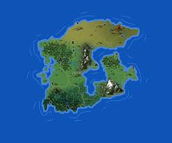 Island Map Generator How To Make A Fantasy Map In Photoshop 36 Steps