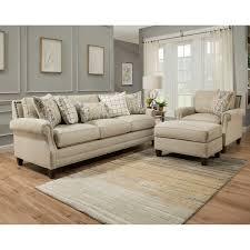 Off White Laminate Flooring Kerrington 3 Piece Fabric Set Off White