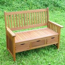 garden bench with storage teak garden bench with storage box