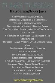 halloween songs monster mash tunes tuesday scary songs for halloween run with no regrets