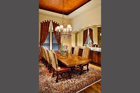 hill country dining room texas hill country 6234 sterling custom homes