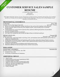 Examples Of Customer Service Resumes by Customer Service Representative Resume Template For Download