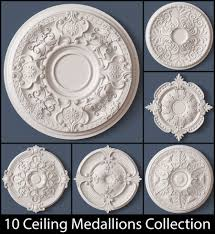 3d Home Decorator Medallion 3d Models Cgtrader Com 10 Ceiling Medallions Collection