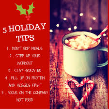 tips for staying healthy during the holidays rate zones