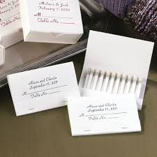 personalized cards wedding personalized place card matches invitations by