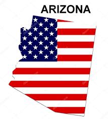Usa State Map by Usa State Map Arizona U2014 Stock Photo Pdesign 1768546