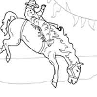 cowboy coloring pages surfnetkids
