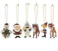 jim shore rudolph traditions 6 ornament set page 1 qvc