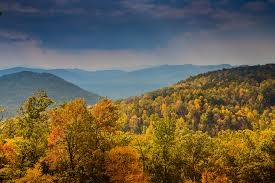 fall color blue ridge mountains