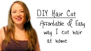 easy diy at home haircut for women and girls youtube