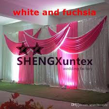 wedding backdrop curtains for sale top sale wedding backdrop curtain in white color stage drape