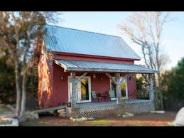 Small Barn House 336 Sq Ft Tiny Barn Cabin Amazing Small House Design Youtube