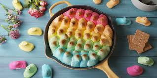 Easter Decorating Ideas With Peeps by 16 Peeps Recipes Things To Make With Peeps U2014delish Com