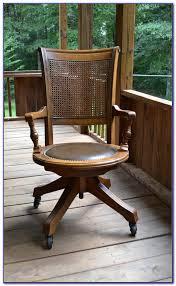 Antique Swivel Office Chair by Wooden Swivel Desk Chair Antique Desk Home Design Ideas