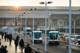 smog hit paris tests electric driverless minibus color codes car