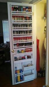 Cream Spice Rack Best 25 Pantry Door Rack Ideas On Pinterest Door Organizer
