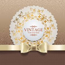 vintage cards exquisite lace vintage cards vector set 03 vector card free