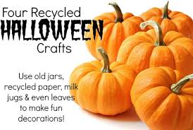 Recycled Halloween Crafts - guest post overcoming your recycling nightmare not quite