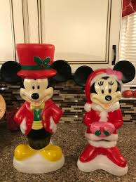 blowmold mickey and minnie mouse at lowes blow molds