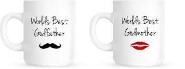 godmother mugs worlds best godmother godfather godparents christening christmas
