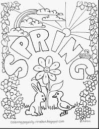 printable coloring pages of flowers kindergarten printable spring printable coloring pages spring