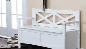 White Entryway Bench by Allowing Foyer Furniture Tags Entryway Bench White Yellow