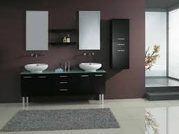Bathroom Modern Vanities - modern bathrooms ideas brown wood magnificent ultra tile photos