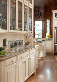 dining room serving cabinet butlers pantry with leaded glass waypoint living spaces style
