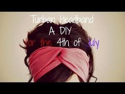 4th of july headbands 4th of july diy no sew turban headbands