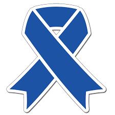 royal blue ribbon cancer awareness supplies party supplies blue ribbon