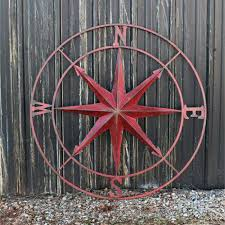 wood compass wall large metal compass wall decor a cottage in the city