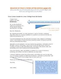 resume cover letter college grad stars summary cf