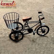 iron metal craft bicycle miniature bike and decorative wrought