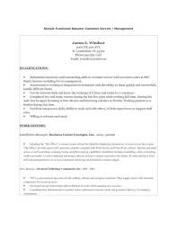 A Functional Resume Functional Resumes Examples Functional Resume Samples Writing