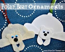 easy to make polar ornaments are the craft for