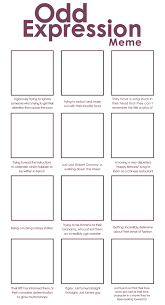 Expressions Meme - odd expressions meme blank by alamorte how to draw