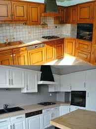repeindre un meuble cuisine repeindre meuble cuisine rustique beau meubles cuisine bleu gris