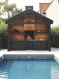 cuisine d exterieure cuisine d extérieur inox mobile design barbecue plancha