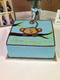 monkey baby shower cake a spoon fulla sugar wedding cakes cincinnati baby