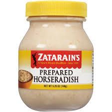 what is prepared horseradish zatarain s prepared horseradish 5 25 oz walmart