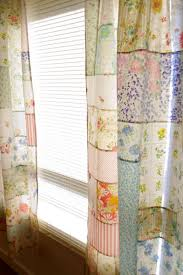 new wives club 17 pretty curtains made from a patchwork of