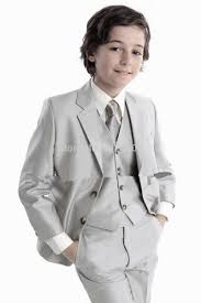 formal kids tuxedo suit for weddings boys wedding party clothes