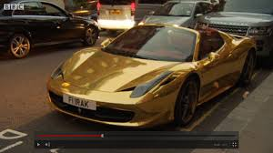 gold ferrari wallpaper arab supercars rocking downtown u0027s london u2013 michi4000