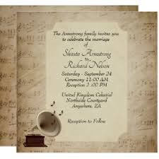 antique fallos ring holder images Music theme wedding invitations announcements zazzle ca jpg