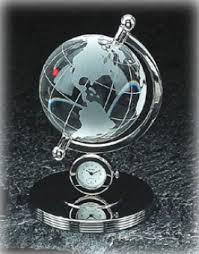 Small Desk Globe Picture Of Bey Berk Clocks Small Globe Desk Clock Cm732 Images